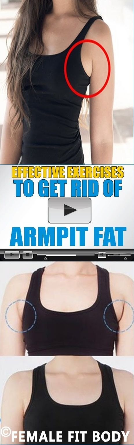 Effective Exercises to Get Rid of ARMPIT Fat (Video)
