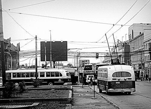 Trole Buses en Valparaiso