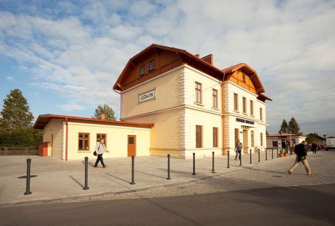 Dworzec w Leżajsku