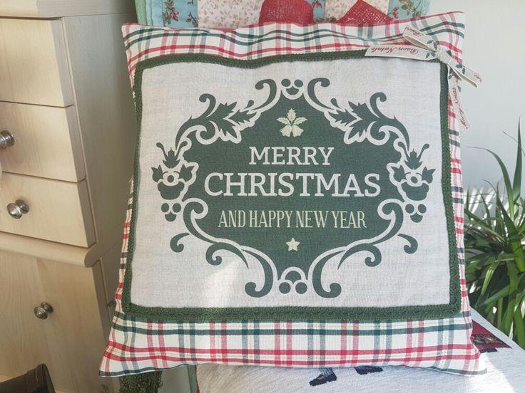 Il nostro cuscino cucito a mano e stampato! Tutto handmade