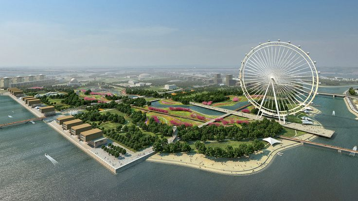 Reconstruction Project of Central Park in Astana, Kazakhstan