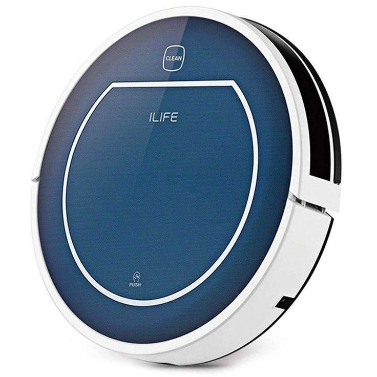 ILIFE V7 Super Mute Sweeping Robot Home Vacuum Cleaner:BiBset.com
