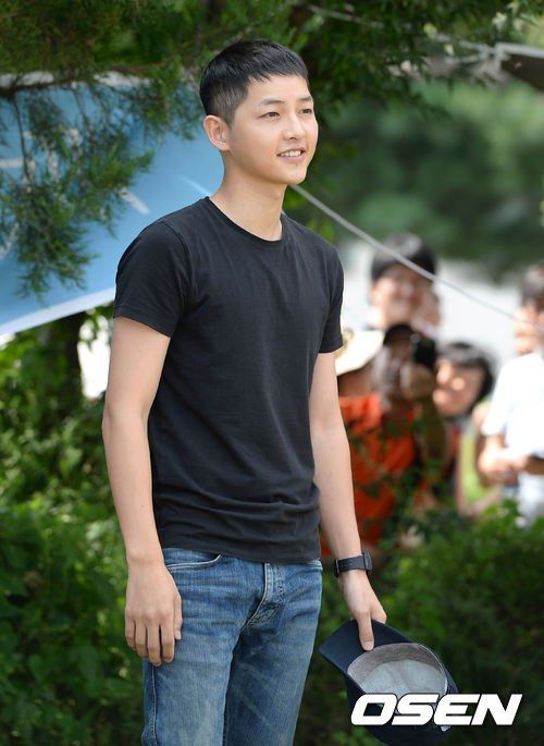 Song Joong Ki's enlistment *31