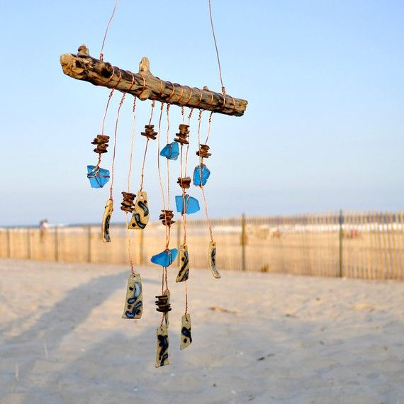 beach wind chimes: Crafts Ideas, Diy Crafts, Art, Windchimes, Wind Chimes, Beach Weddings, Crafts Diy, Craft Ideas, Mobile