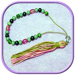 Learn how to make worry beads with this easy to follow tutorial. Make an unusual and thoughtful gift for someone going through a stressful time.