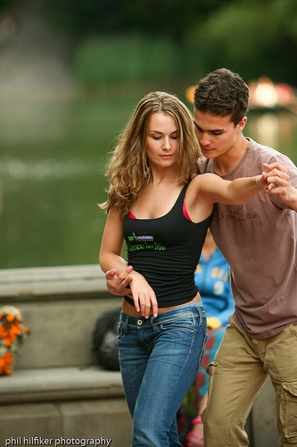 dancing in central park