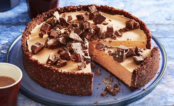 Cheesecake Toblerone χωρίς ψήσιμο
