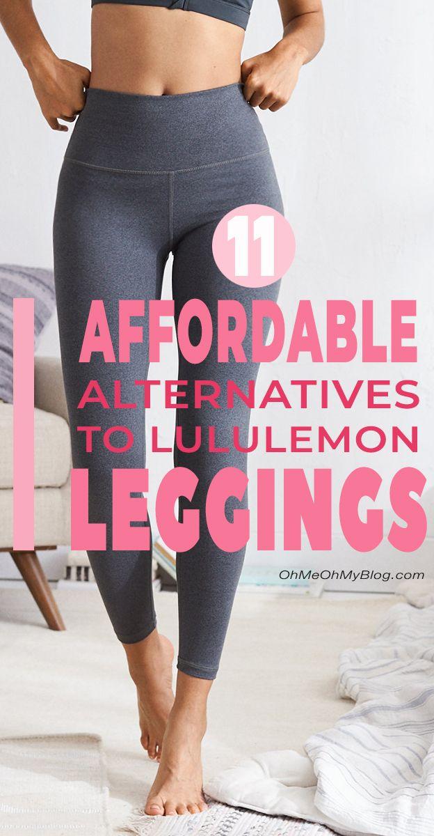11 Affordable Alternatives to Lululemon Leggings!