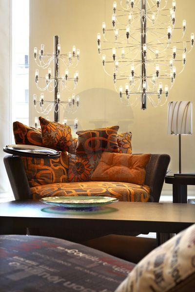 Modern 56-bulb chandelier | AKTINES - MAVROS LIGHTING