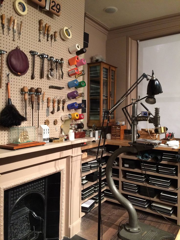 personalization room at Anya Hindmarch