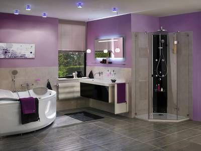 Wandfarbe Badezimmer