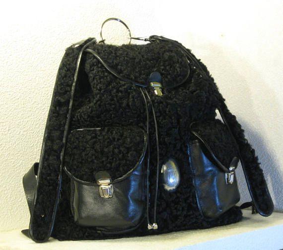 backpack Black fleece