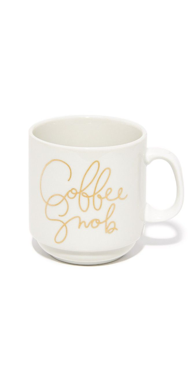 Gift Boutique Coffee Snob Mug   SHOPBOP