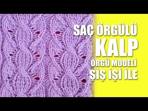 SAÇ ÖRGÜLÜ KALPLER ÖRGÜ MODELİ YAPILIŞI TÜRKÇE VİDEOLU   Nazarca.com