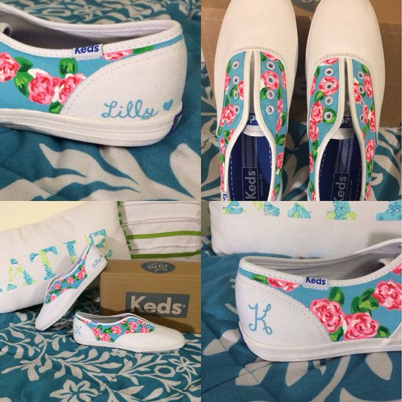 Hey, I found this really awesome Etsy listing at http://www.etsy.com/listing/179278070/lilly-pulitzer-handpaint-keds-or