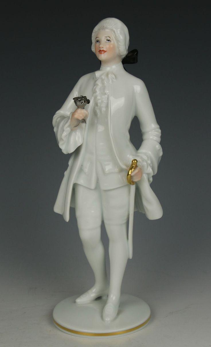"Augarten Wien Figurine ""The Rose Bearer"""