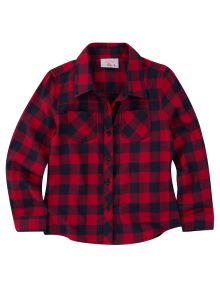 Tickled Pink Long-Sleeve Check Shirt product photo