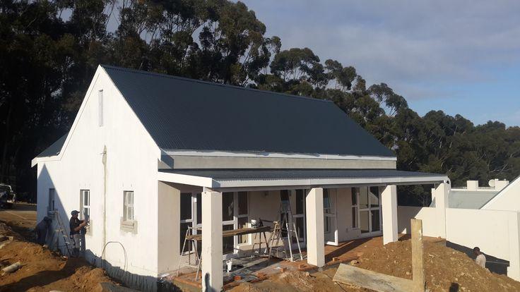 Diemersfontein Wine Estate.  Good wine, excellent roofing.