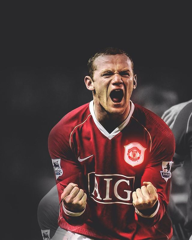 #WayneRooney - Twelve years at Manchester United Testimonial match today against his former side Everton Download this wallpaper on my twitter (link in bio). //#mufc.