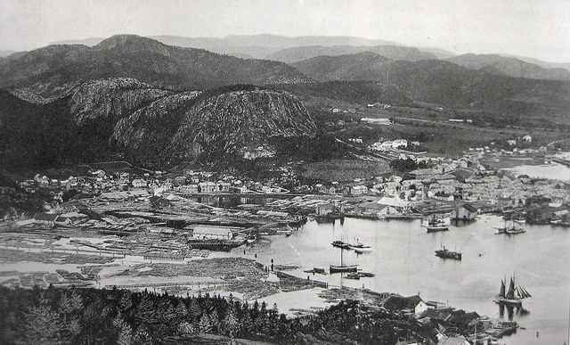 Namsos-oversikt i 1912 by Espen Sandmo, via Flickr