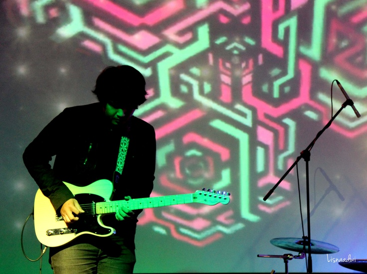 Bowo of Backwood Sun live at Magic Folk Music at @atamerica, Jakarta 2013