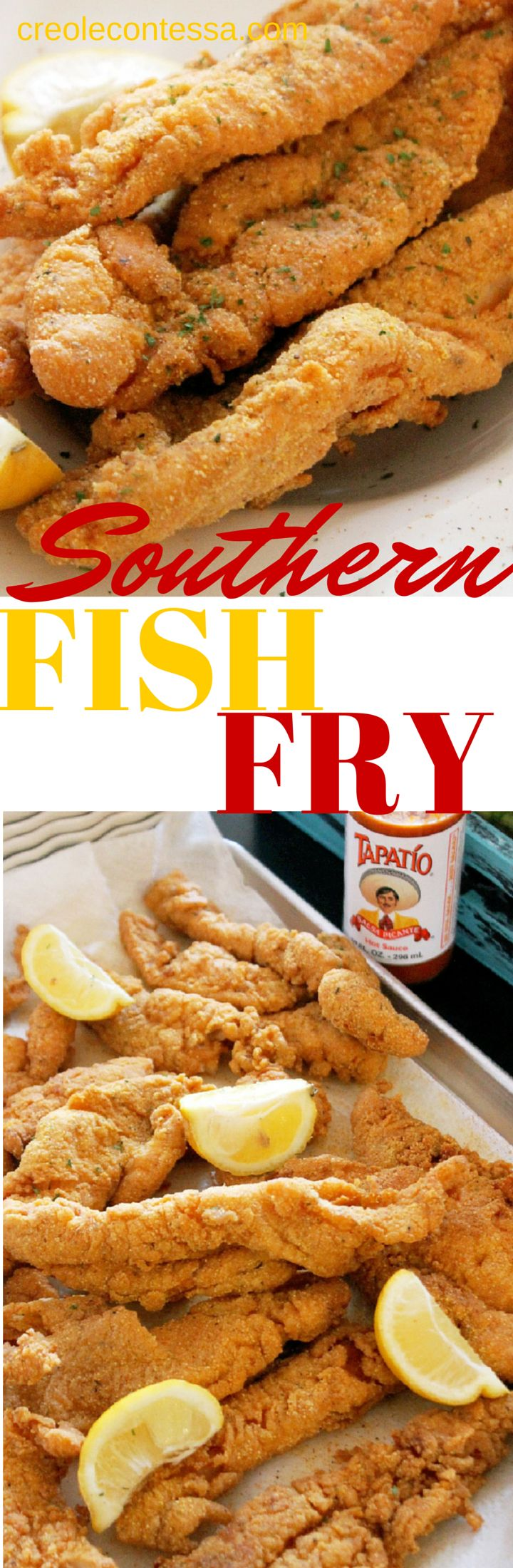 Southern Fish Fry-Creole Contessa  (she has such insanely good recipes!!)