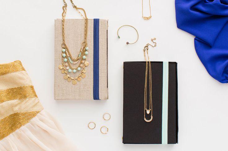 Travel jewellry organizer