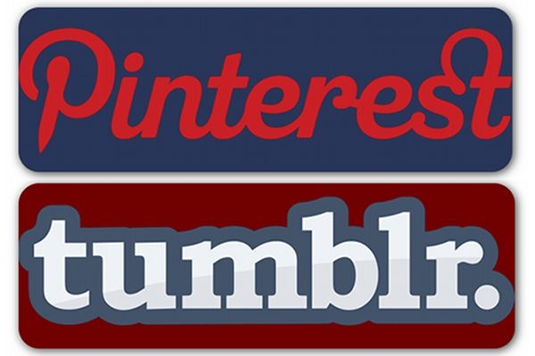 How to use Pinterest and tumblr to build brand.