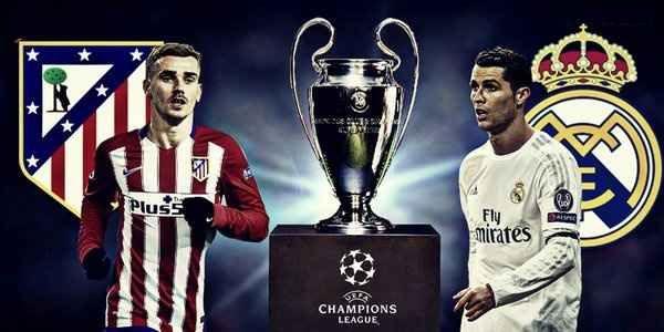 Champions league 2016 final live Stream Real Madrid vs Atletico madrid