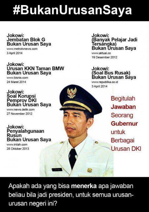 #BukanUrusanSaya, awal kejatuhan Jokowi ? | wisbenbae