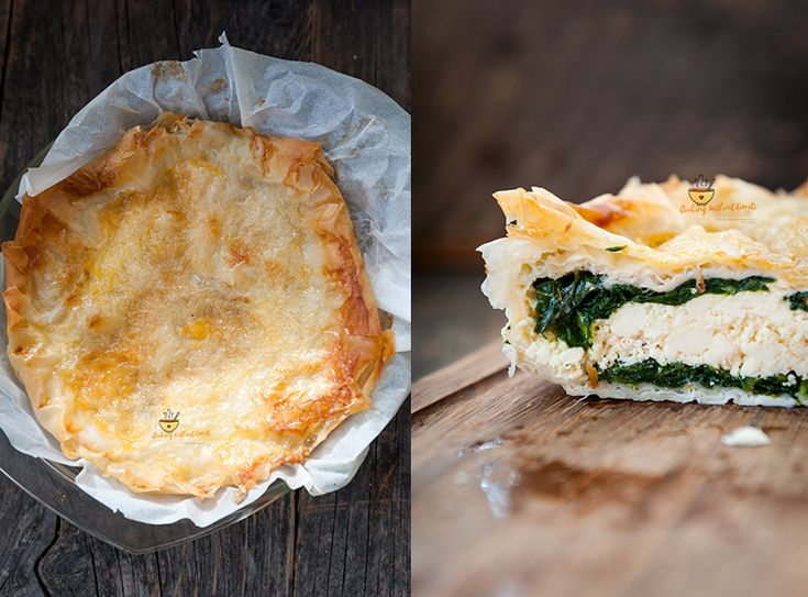 Spinach and feta cheese pie – Cooking Without Limits