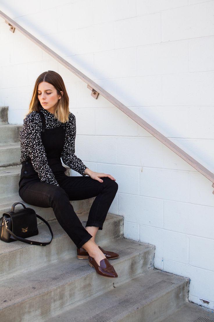 Black Overalls blogger