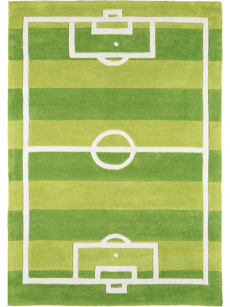 Der Kinderteppich Fussball garantiert Spielspaß in jedem Kinderzimmer