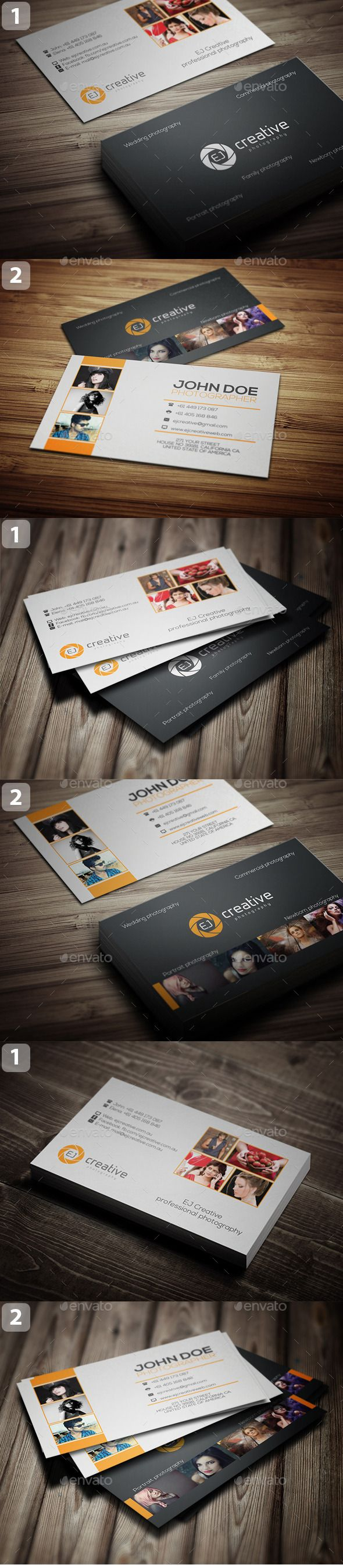 The 25 best photographer business cards ideas on pinterest photographer business card bundle reheart
