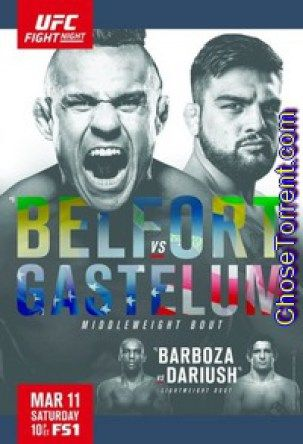 UFC Fight Night 106 Belfort vs Gastelum Torrent Full HD Download