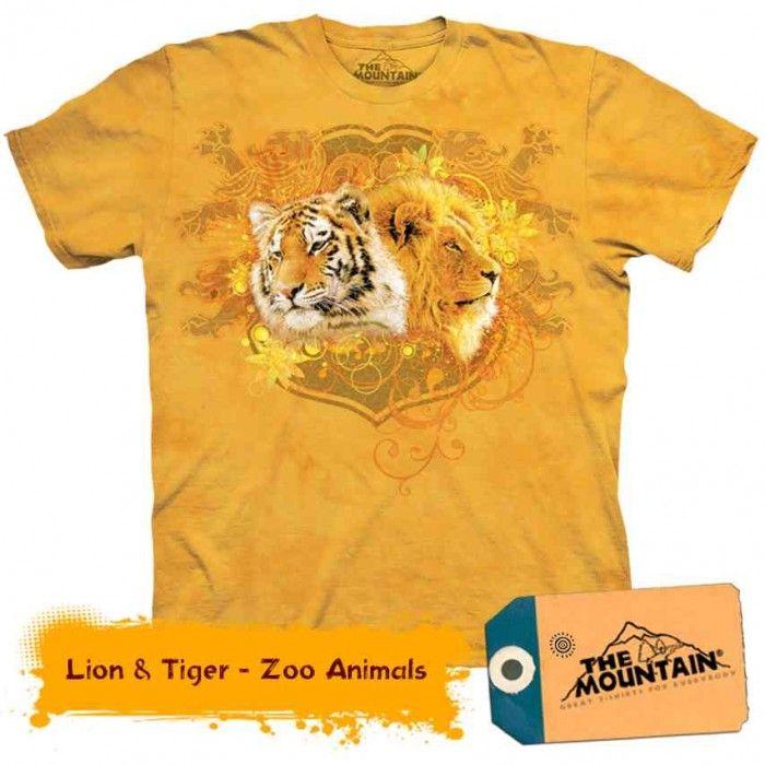 Tricouri The Mountain – Tricou Lion & Tiger