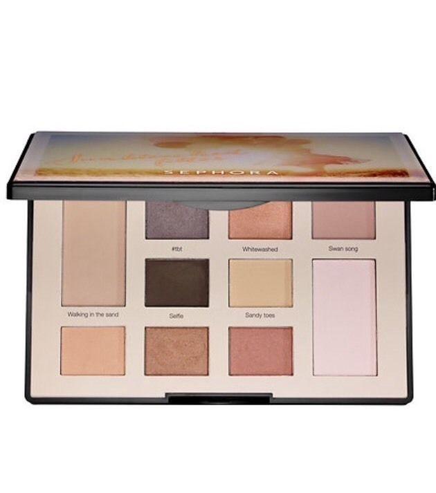 Sephora Colorful Beautiful Eyeshadow Pressed Powder Full Sz-Sun bleached Filter #Eyeshadow