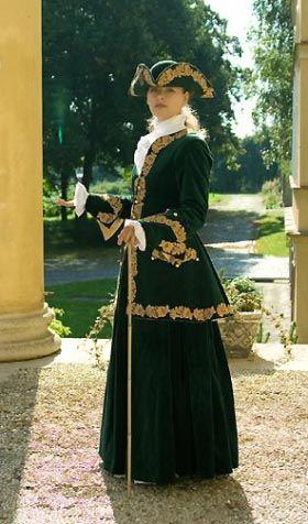 Tailor's - Lenka, Ridding dress, part 1
