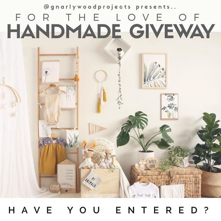 Have you entered this amazing handmade giveaway yet?? Add original post for details!