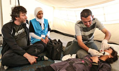 'So many ways to die in Syria now': Neil Gaiman visits a refugee camp in Jordan [click through for article]