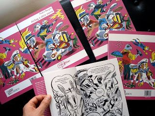 La copertina di Airbag e altre storie in tutto il suo splendore!