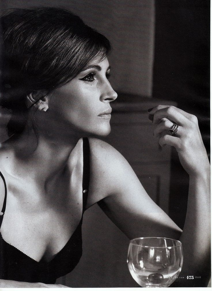 JULIA ROBERTS One of the most recognizable...and beautiful faces in the world.