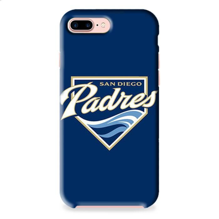 Sandiego Padres Baseball Logo Blue iPhone 8 Plus 3D Case Caseperson