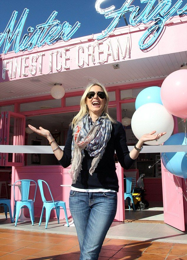 Roxy Jacenko beams with delight at ice cream store opening in Brisbane