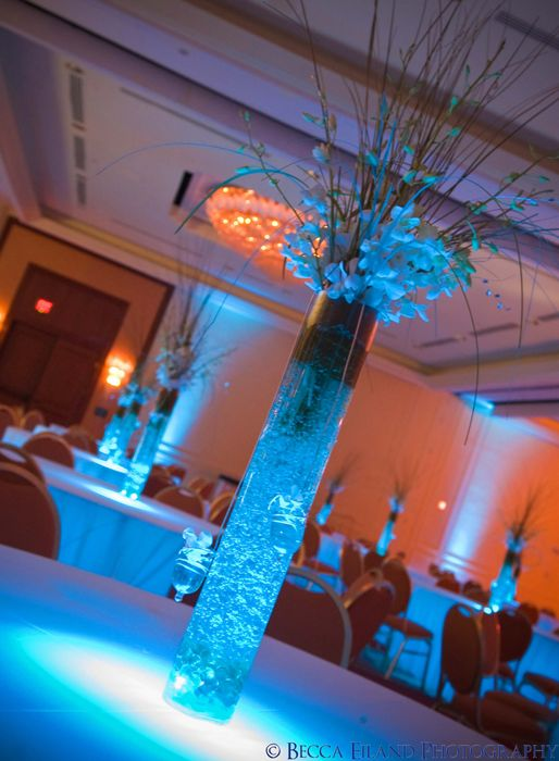 17 images about wedding centerpiece ideas with led - Led lights decoration ideas ...