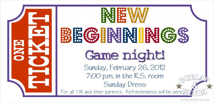 New Beginnings Game Night | Mormon Share
