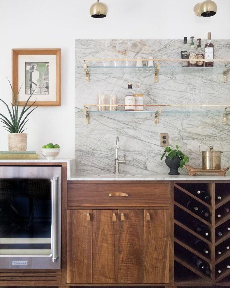 "Kitchen Renovation Trends 2015 27 Ideas To Inspire: Jess + Jonathan Taylor On Instagram: ""This Custom Bar"