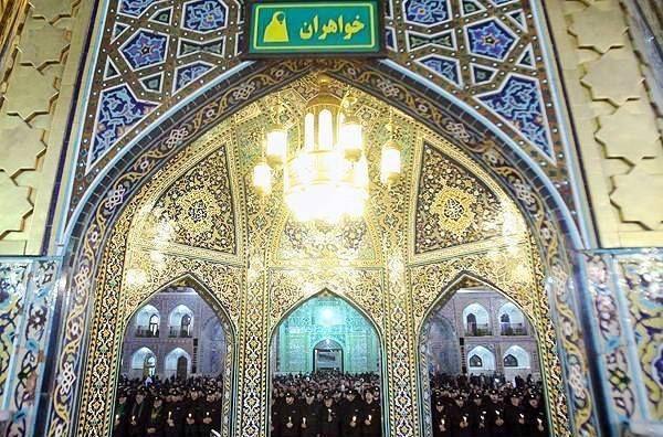 Ashura at Imam Raza Shrine