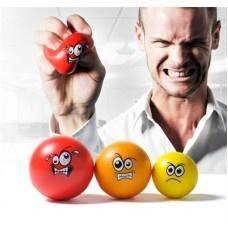 Last van stress....maak dan gebruik van Anger Management. De drie balletjes zijn voor alle vormen van stress. Neem de gele bal voor kleine irritaties, de oranje voor opkomende stress en de rode bal voor woede uitbarstingen. Ideale therapie...!