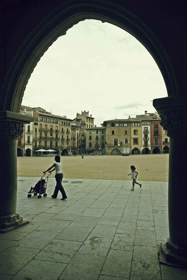 La plaza mayor de Vic, Barcelona